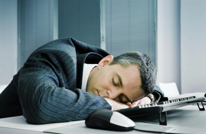 ¿Una siesta en el trabajo?